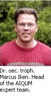 Dr. oec. troph. Marcus Iken, Leader of our Expertenteams